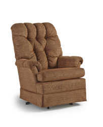 Best Home Furnishings - Biscay swivel rocking chair