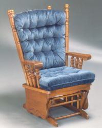 Best Home Furnishings - Gisella gliding rocking chair