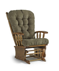 Best Home Furnishings - Henley gliding rocking chair