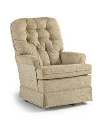 Best Home Furnishings - Joplin swivel rocking chair