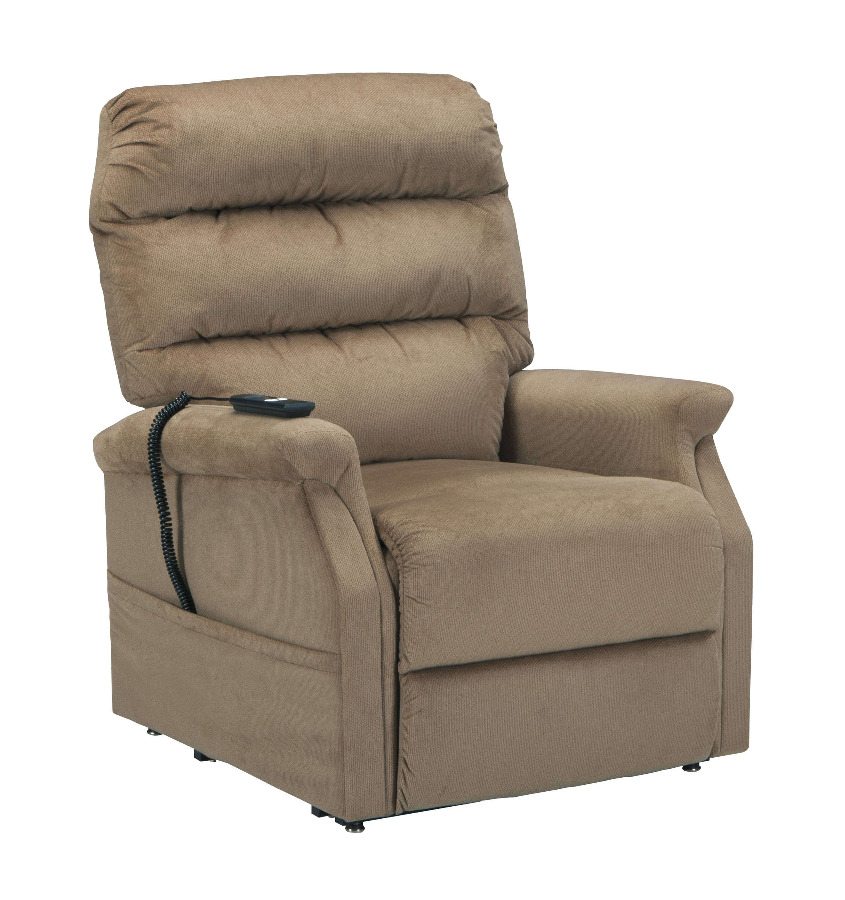 brown ashley power recliner