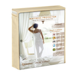 fabritech mattress protector inside packaging