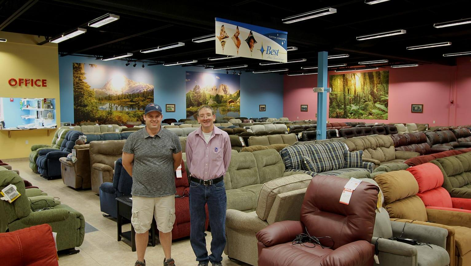 Furniture Stores In Claremont Nh Local Furniture Store In Walpole Nh Aumand S Bobs Furniture