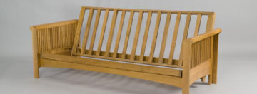 wood futon frame