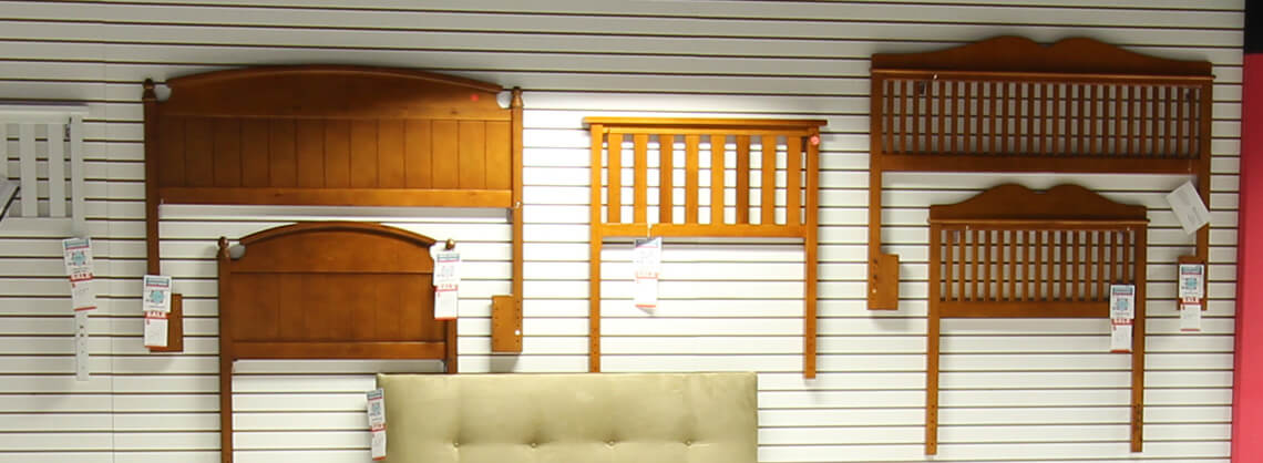 various wooden headboards