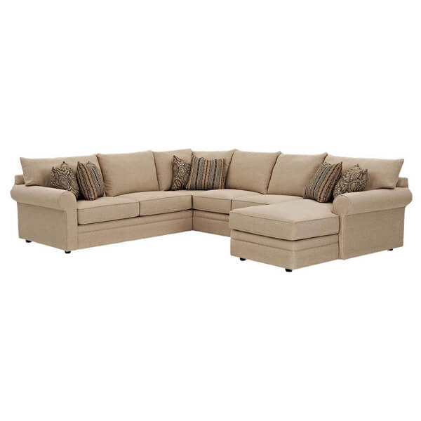klaussner sectional couch