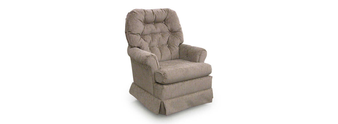 tan swivel rocker