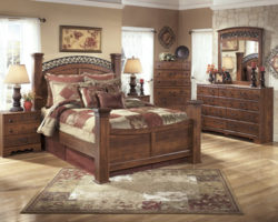 Ashley Timberline B258 bed