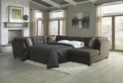Ashley Delta City 197 sofa with pullout mattress
