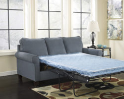 Ashley Zeth 271 couch with pullout bed in action