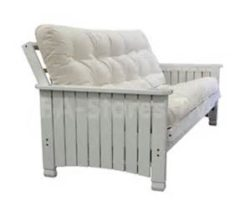 Gold Bond Charleston White futon