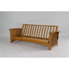 Gold Bond Manhattan Cherry Oak futon