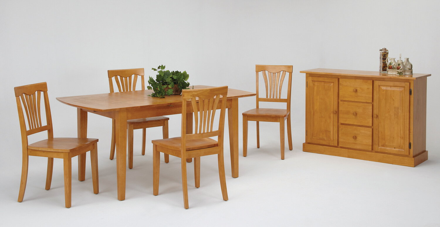 Amesbury Chair dining set - modern wooden