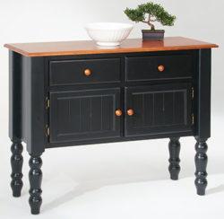 amesbury chair buffet - black