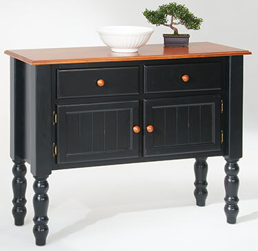amesbury chair buffet - black