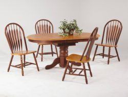 Amesbury Chair dining set - classic wooden